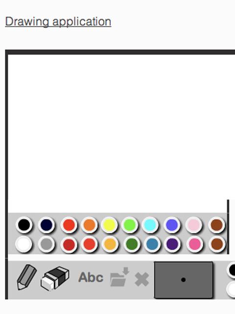 Drawing application |